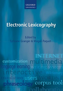 Electronic Lexicography (© Oxford University Press)
